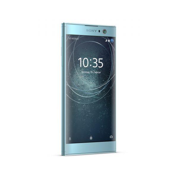 Sony Xperia XA2 in Blau Frontseite